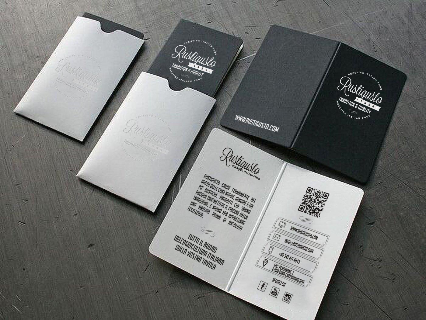 Biglietti da visita Rustigusto design