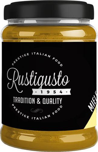 Grafica, logo, etichette e Web design freelance per Rustigusto